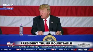 FNN: President Trump signs border policy executive order, heads to MN for rally