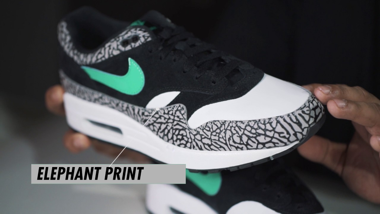 UP CLOSE: ATMOS x Nike Air Max 1 'Elephant'