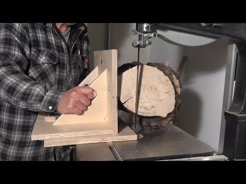 How To Cut A Log Square
