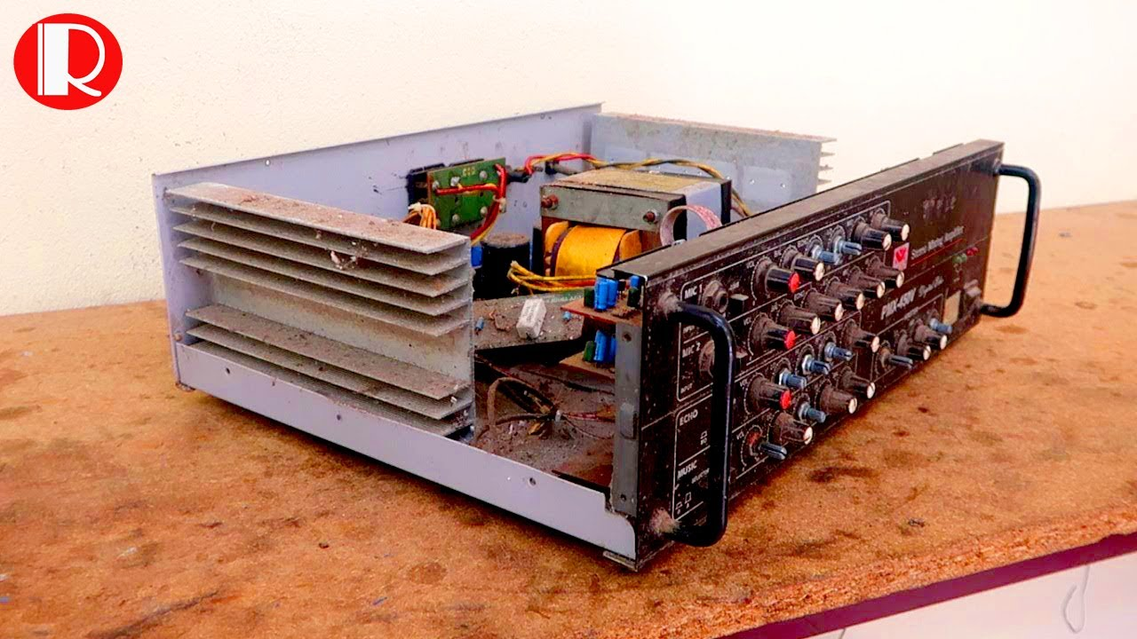 Restoration Power Amplifier - Restore  And Reuse Of Electrical Equipment