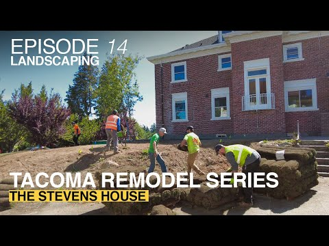 Anne Curry Homes | The Stevens House - Episode 14 | LANDSCAPPING