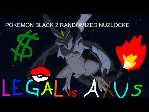 Axus VS Legal - Pokémon Black 2 Randomized Nuzlocke! - EP5 - Big Cities, Small Attention