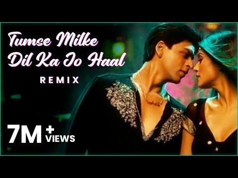 Tumse Milke Dilka Jo Haal (Remix)- DJ Aftab & Baichun I Sharukh Khan I Tatwarth Visuals