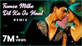 Tumse Milke Dilka Jo Haal (Remix)- DJ Aftab  Baichun I Sharukh Khan I Tatwarth Visuals