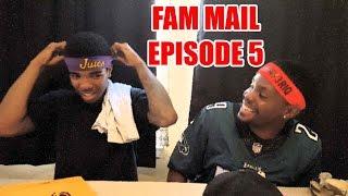 Fam Mail Opening Ep.5 - CUSTOMIZED SWAG GIFT!!   @imav3riq