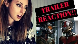ANT-MAN AND THE WASP OFFICIAL TRAILER REACTION!!