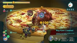 Pikmin 3 Mission Mode - Collect Treasure #11 (DLC): Fortress of Festivity (Platinum/No Deaths)