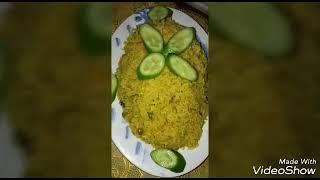 اجمل الاطباق علي سفرة رمضان //الرز الهندي //وعلي قد الايد مع بسمه