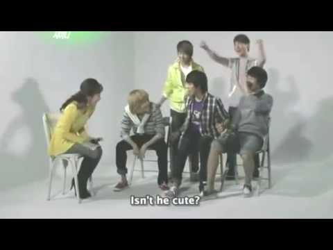 [ENG SUB] 140927 SHINee hyungs react to Taemin's Stormy Aegyo