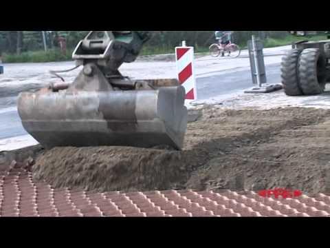Asphalt Road Repair with PRS-Neoweb®, Poland