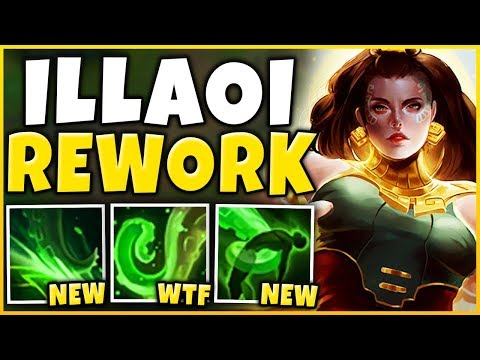 *NEW REWORK* ILLAOI IS AN AP ASSASSIN NOW RIOT WTF - League of Legends