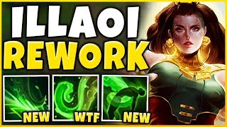 *NEW REWORK* ILLAOI IS AN AP ASSASSIN NOW (RIOT WTF) - League of Legends
