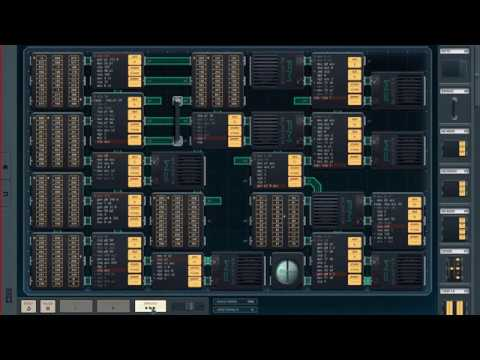 Shenzhen I/O plays Rick Astley - Never Gonna Give You Up
