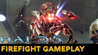 Halo 5: Guardians - Warzone Firefight Gameplay