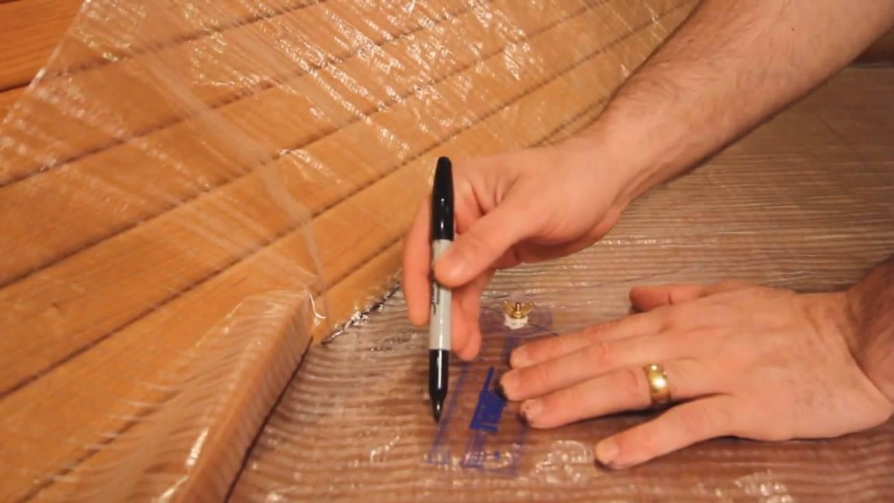 portland mattress custom boat mattress template process youtube