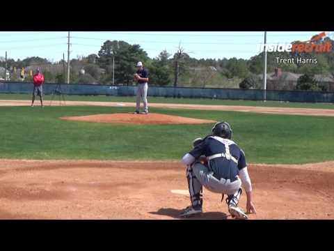 Trent Harris - Baseball Recruiting Video -  Pitching - www.insiderecruit.com