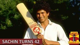 Master Blaster Sachin Tendulkar turns 42