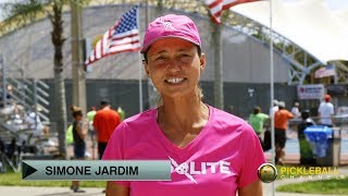 Minimizing Mistakes with Paddle Position by Simone Jardim - Pickleball Quick Tip