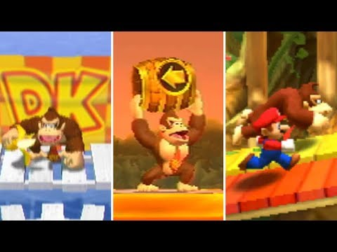 Evolution of Donkey Kong Minigames in Mario Party (1998-2017)