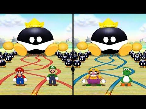 Mario Party 5 - All 2-vs-2 Minigames