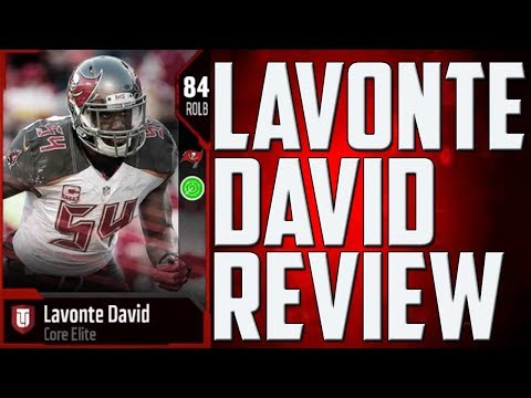 HOW GOOD IS 84 LAVONTE DAVID? MUT 18 CARD REVIEW