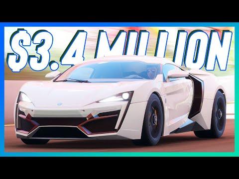 Forza Horizon 4 Drifting W Motors Lykan HyperSport (Logitech G29 Steering Wheel) Gameplay