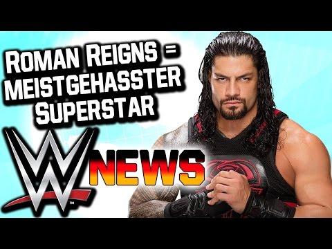 Roman Reigns ist der meistgehasste Superstar, Jimmy Snuka verstorben | WWE NEWS 5/2017
