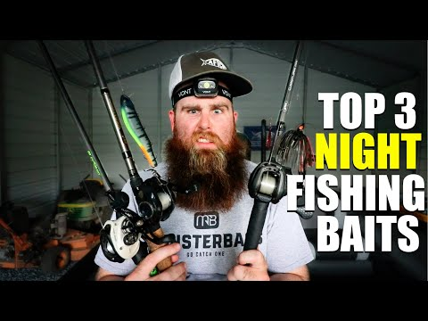 3 Baits To Conquer Night Time Bass Fishing!