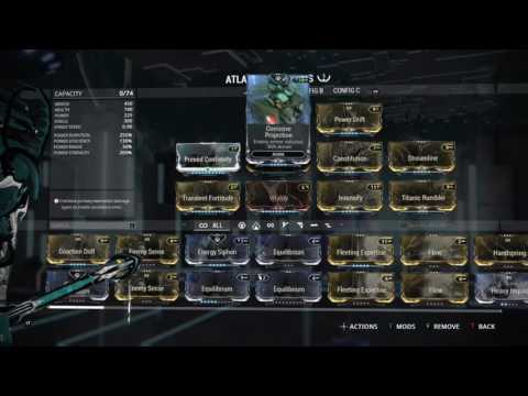 Warframe Tactical Wall Building With Atlas Hope This