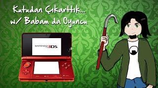 Nintendo 3DS'i Kutudan Çıkarttık (w/ Babam da Oyuncu)