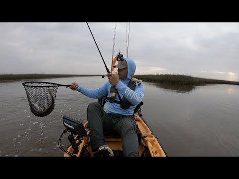 Kayak Fishing Sabine Pass Texas
