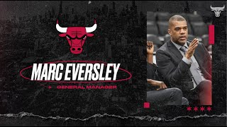 FULL AUDIO: Marc Eversley introduced as General Manager | Chicago Bulls
