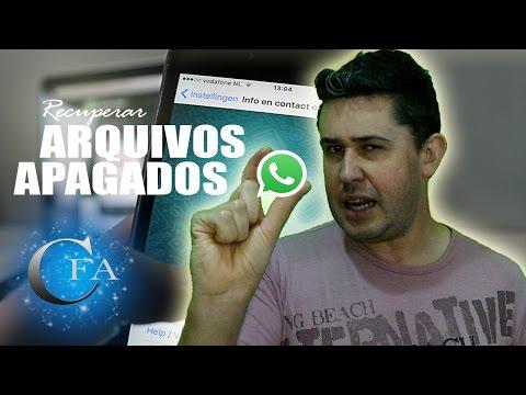 Recuperar arquivos apagados do Whatsapp