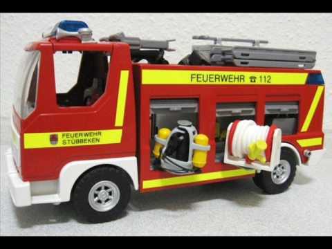 playmobil feuerwehr sammlung teil 1 brandschutz.wmv - youtube