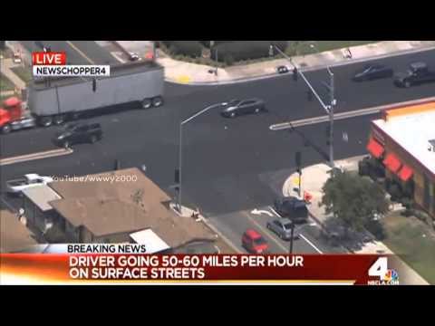 Los Angeles Police Chase 2015 KNBC