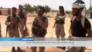 تحت غطاء جوي كثيف، قوات سورية الديموقراطية تدخل منبج وتشتبك في حرب شوارع مع داعش