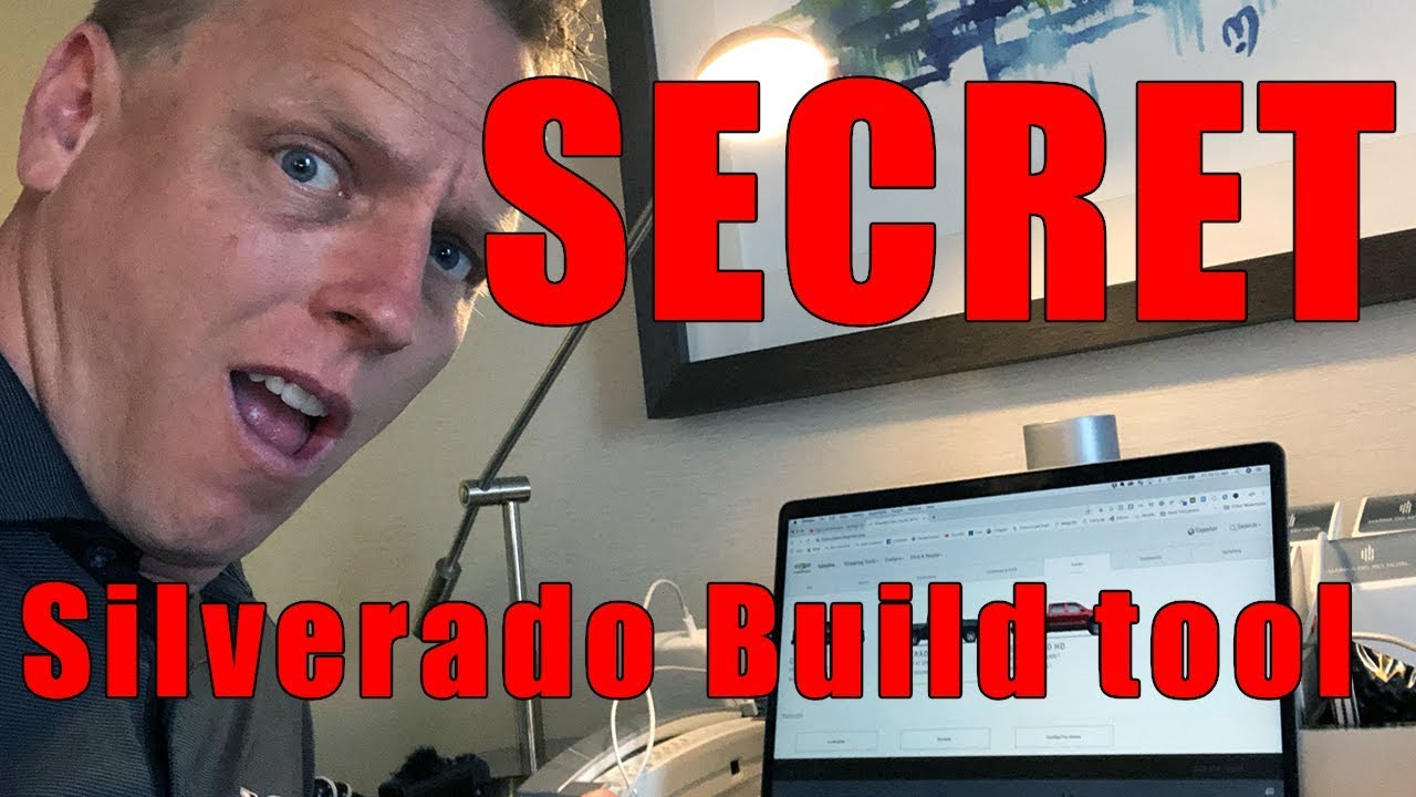 Chevy Build And Price >> 2019 All New Silverado Secret Build And Price Tool Chevy Dude Youtube