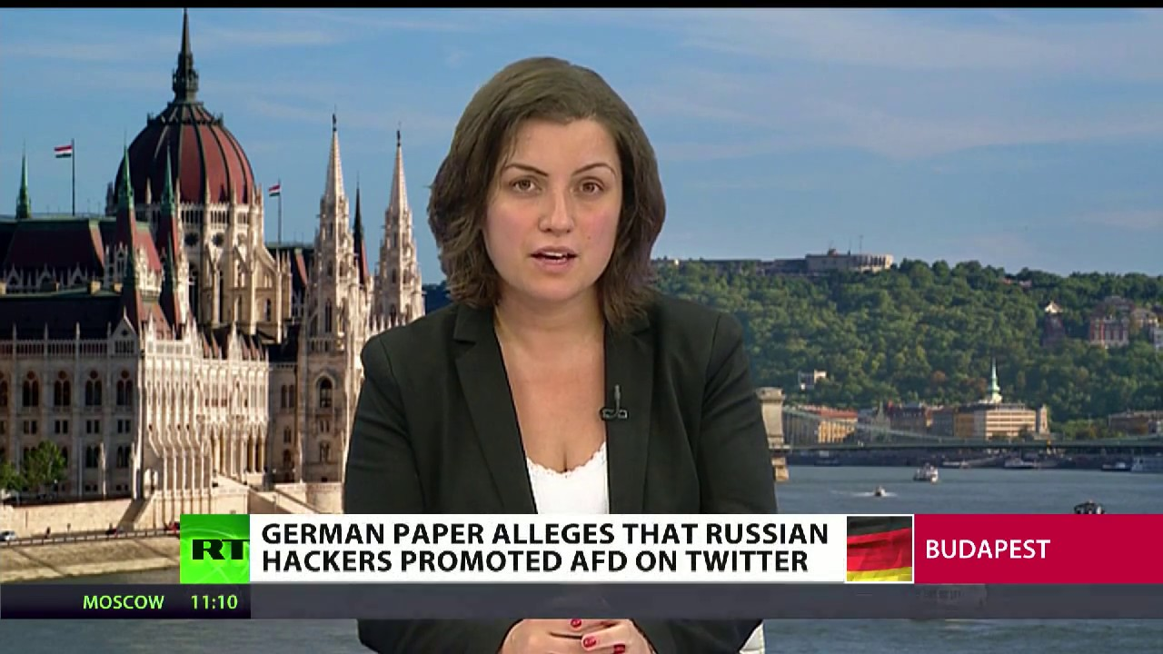 German paper alleges Russian hackers promoted AfD on Twitter