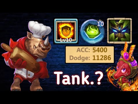 Rockno | Back In Action | HP Traits | 10 Fg | 10 VF | Good Tank...? | Castle Clash