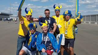 Шведы классные они спели и подарили мне шапку свою ))