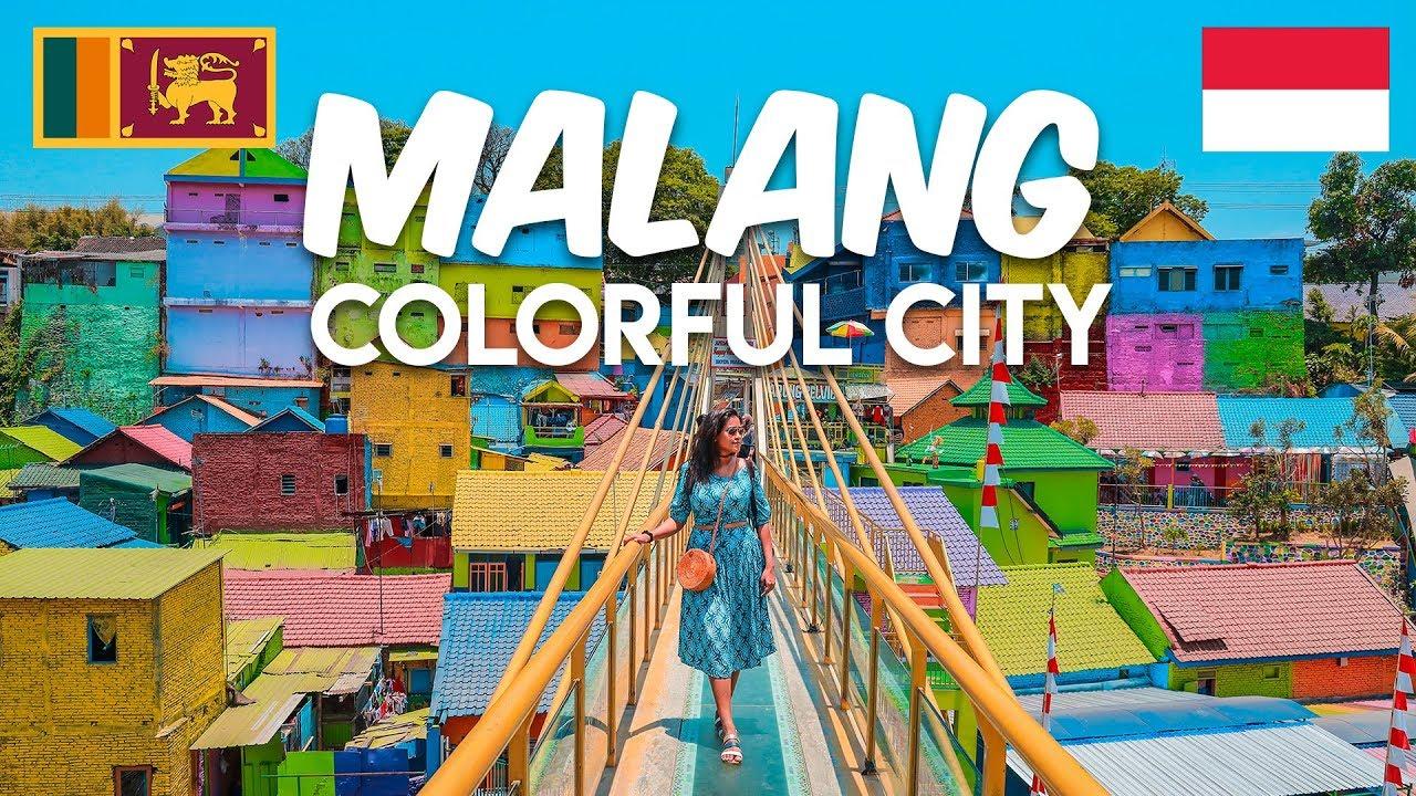 Malang Rainbow Village Jodipan Indonesia Bali Travel Guide Travel Vlog 20 5 Youtube