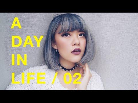 THE DAY I DYE (DENIM HAIR!)    Sonia Eryka