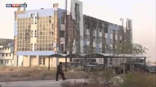 استعادة جامعة الأنبار من داعش