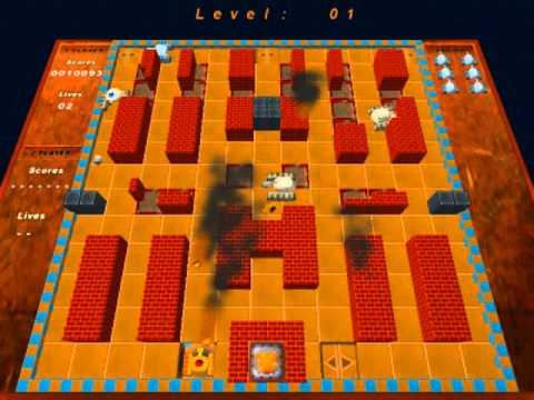 Battle Rush 3D Game Play