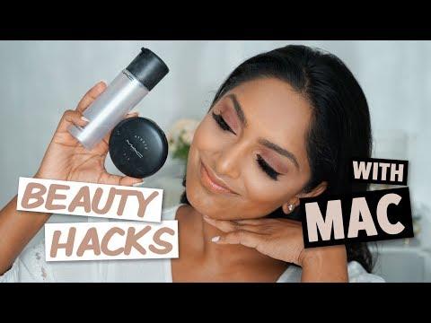 Beauty Hacks with MAC Cosmetics! | Deepica Mutyala