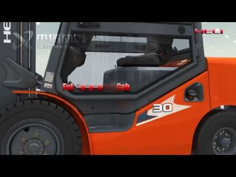 HELI New H Series IC Forklift