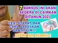 - Siapkan Syarat-syarat nya! 7 Bansos Ini Akan Cair di Tahun 2021