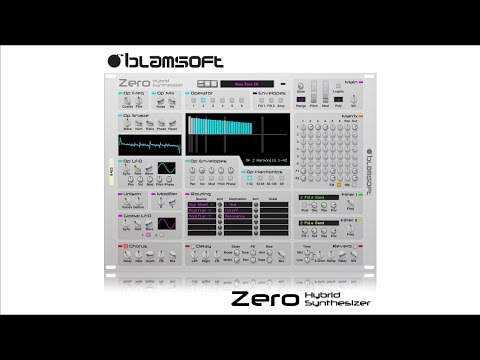 Zero Hybrid Synthesizer | Synthesizer | Shop | Propellerhead