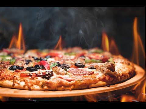 بيتزا السجق الرائعة في المقلاة بوعدكن رح تعشقوها Sausage pizza brilliant