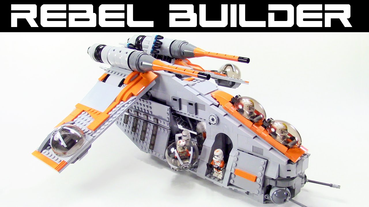 How To Build A Lego Gunship